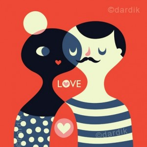 LOVE by Helen Dardik