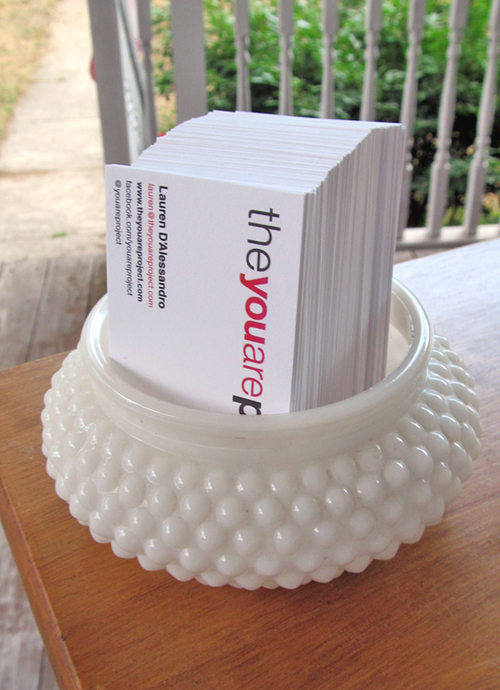 Theyouareproject easy and chic way to store your business cards business cards colourmoves