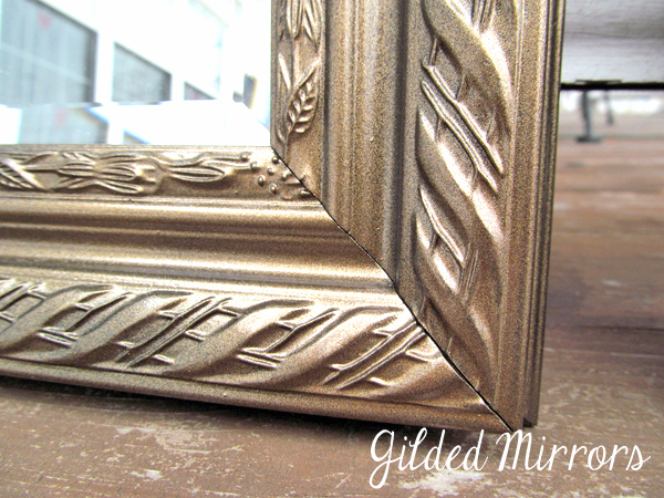 DIY Bronze Mirror