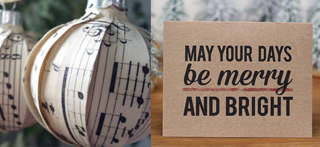 Etsy Greeting Cards and Ornaments