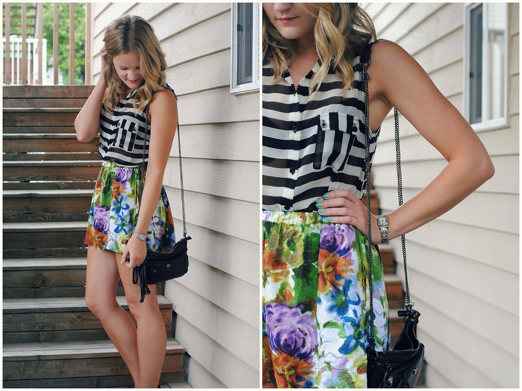 Stripes and florals